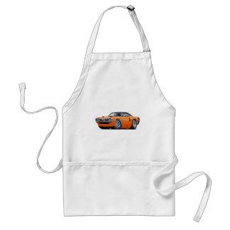 1970 Coronet RT Orange-Black Top Car Standard Apron