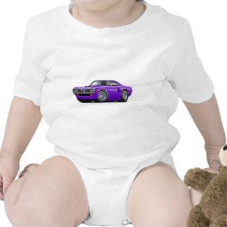 1970 Coronet RT Purple Hood Scoop Car T-shirt