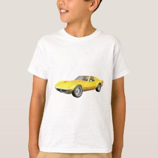 1970 Corvette Sports Car: Yellow Finish T Shirt