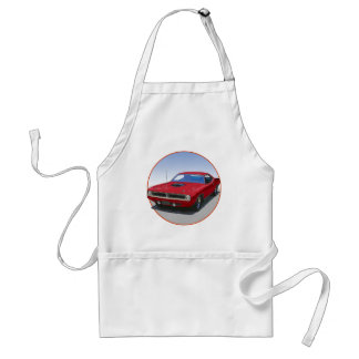 1970 Cuda Coupe Adult Apron