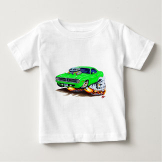 1970 Cuda Green Car T-shirts