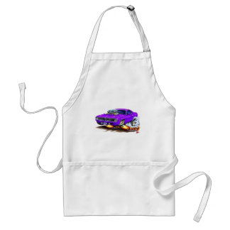 1970 Cuda Purple Car Adult Apron