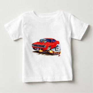 1970 Cuda Red Car Baby T-Shirt
