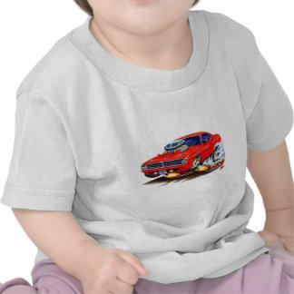 1970 Cuda Red Car Shirts
