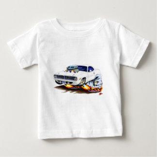 1970 Cuda White Car Baby T-Shirt