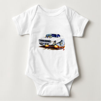 1970 Cuda White Car Tshirts