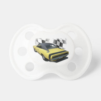 1970 Dodge Charger R/T Baby Pacifiers