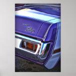 1970 Dodge Dart Swinger Poster