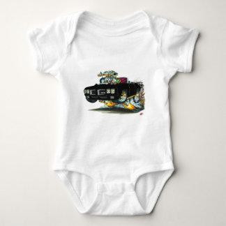 1970 GTO Black Convertible Baby Bodysuit