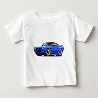 1970 GTO Blue-Black Top T-shirts