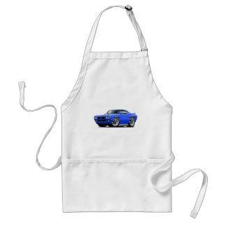 1970 GTO Blue Car Standard Apron