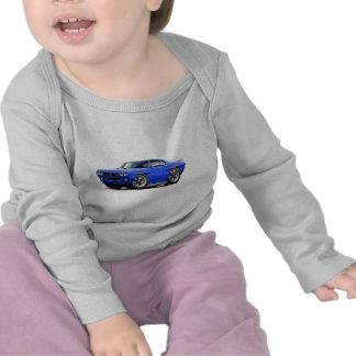 1970 GTO Blue Car T Shirt