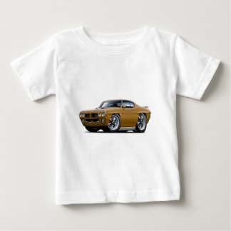 1970 GTO Gold Car Baby T-Shirt