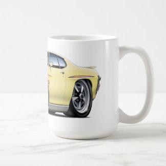 1970 GTO Judge Yellow Car Coffee Mug