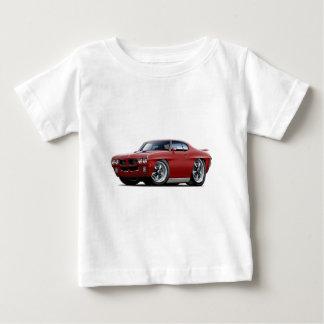 1970 GTO Maroon Car Tee Shirt