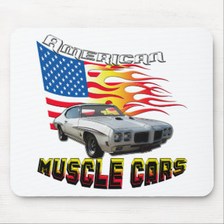 1970 GTO Muscle Car Mouse Pad