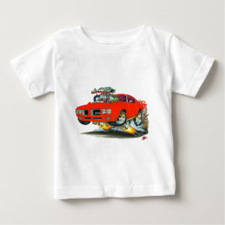 1970 GTO Red Car Baby T-Shirt