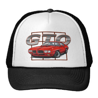 1970 GTO Red Trucker Hat