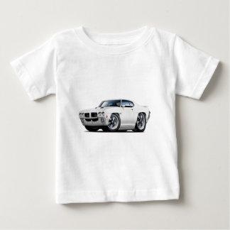 1970 GTO White Car Baby T-Shirt