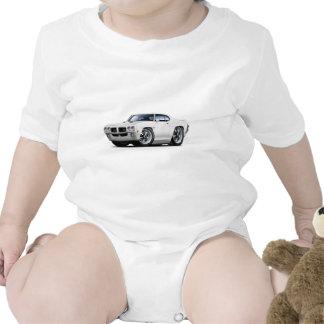 1970 GTO White Car T-shirts