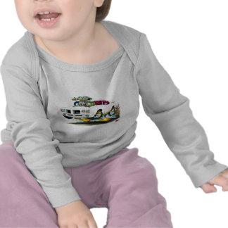 1970 GTO White Car T-shirt