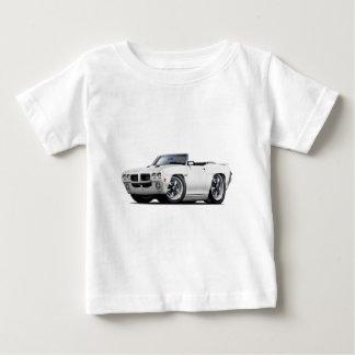 1970 GTO White Convertible Baby T-Shirt