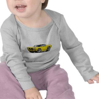 1970 GTO Yellow Car Tee Shirt