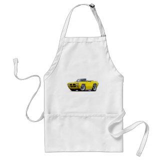 1970 GTO Yellow Convertible Standard Apron