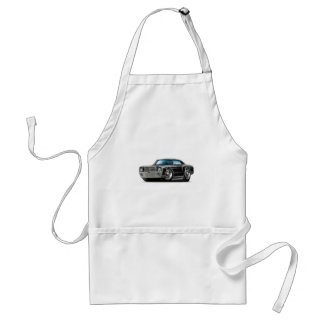 1970 Monte Carlo Black Car Adult Apron