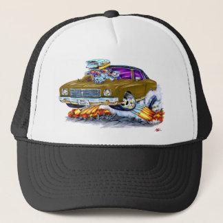 1970 Monte Carlo Brown Car Trucker Hat