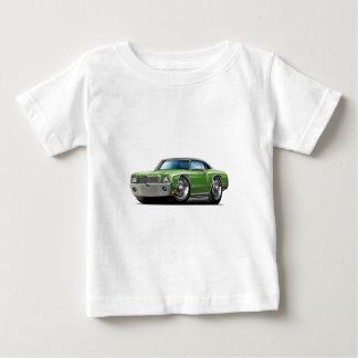 1970 Monte Carlo Green-Black Top Car Tshirts
