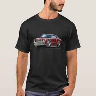 1970 Monte Carlo Maroon-Black Top Car