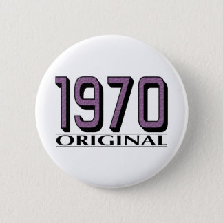 1970 Original 2 Inch Round Button