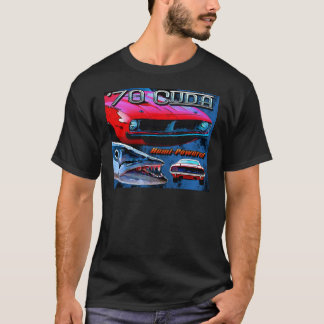 1970 Plymouth Barracuda inspiration for the car T-Shirt