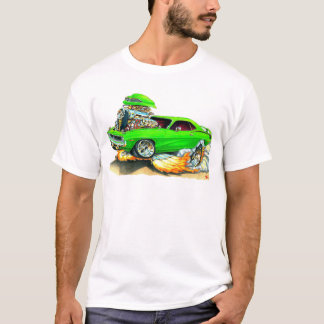 1970 Plymouth Cuda Green Car T-Shirt