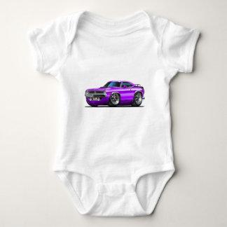 1970 Plymouth Cuda Purple Car Baby Bodysuit