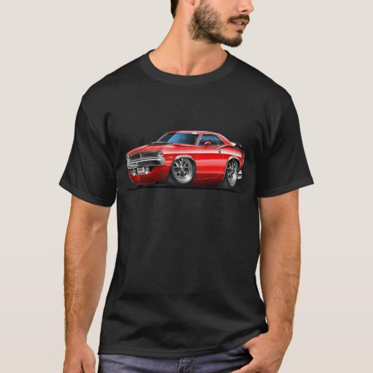 1970 Plymouth Cuda Red Car T-Shirt