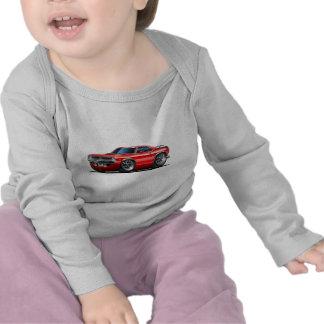 1970 Plymouth Cuda Red Car Shirts