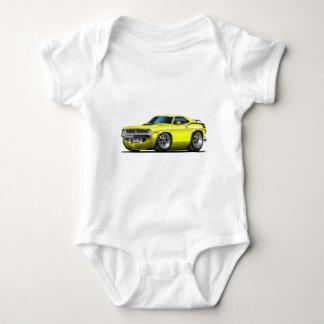 1970 Plymouth Cuda Yellow Car Tee Shirts