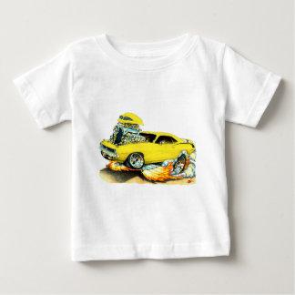 1970 Plymouth Cuda Yellow Car T-shirts