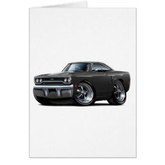 1970 Plymouth GTX Black Car Card