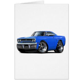 1970 Plymouth GTX Blue Car Card