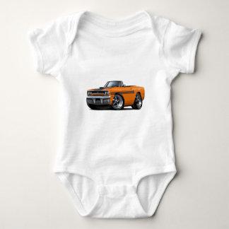 1970 Plymouth GTX Orange-Black Convertible Tee Shirt