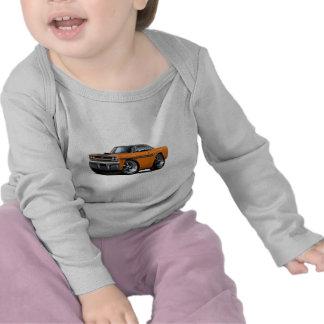 1970 Plymouth GTX Orange-Black Top Car T-shirts