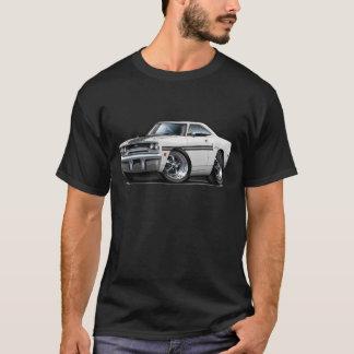 1970 Plymouth GTX White-Black Car T-Shirt