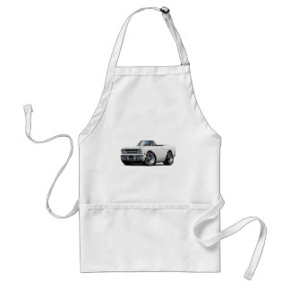 1970 Plymouth GTX White Convertible Adult Apron
