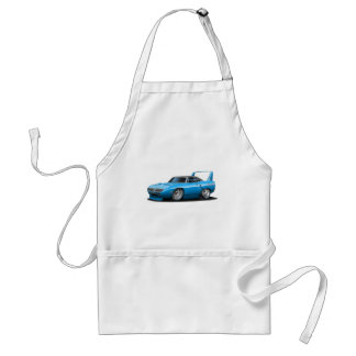 1970 Plymouth Superbird Blue Car Adult Apron