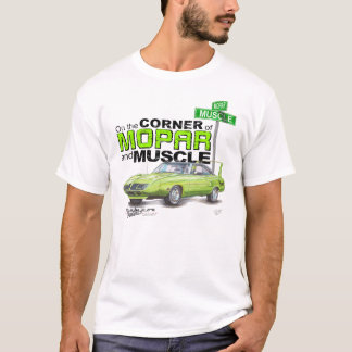 1970 Plymouth Superbird Corner of MOPAR and Muscle T-Shirt