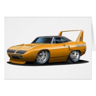 1970 Plymouth Superbird Orange Car Card