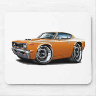 1970 Rebel Machine Orange-Hood Scoop Mouse Pad